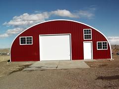 Custom red front workshop