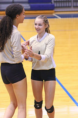 IMG_7937 (SJH Foto) Tags: girls volleyball high school york delone catholic team teen teenager substitution sub rotation