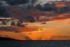 last glow_9687 (kurbeltreter20) Tags: cloud sunset ocean light blue orange golden puntadelhidalgo tenerife spain