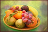 Still life with fruit 2 (JAKE473) Tags: grapes pears plums oranges still life