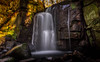 Lumsdale Falls. (Ian Emerson) Tags: omot derbyshire matlock lumsdale waterfall falls water winter december morning light shadows outdoor landscape hoya ndx400 ramble trees rocks moss