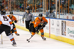 "Missouri Mavericks vs. Quad City Mallards, December 31, 2016, Silverstein Eye Centers Arena, Independence, Missouri.  Photo: John Howe / Howe Creative Photography • <a style=""font-size:0.8em;"" href=""http://www.flickr.com/photos/134016632@N02/31249485584/"" target=""_blank"">View on Flickr</a>"