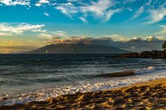 Maluaka Beach to West Maui Mountains (r1aviator) Tags: maluakabeach wailea maui hi