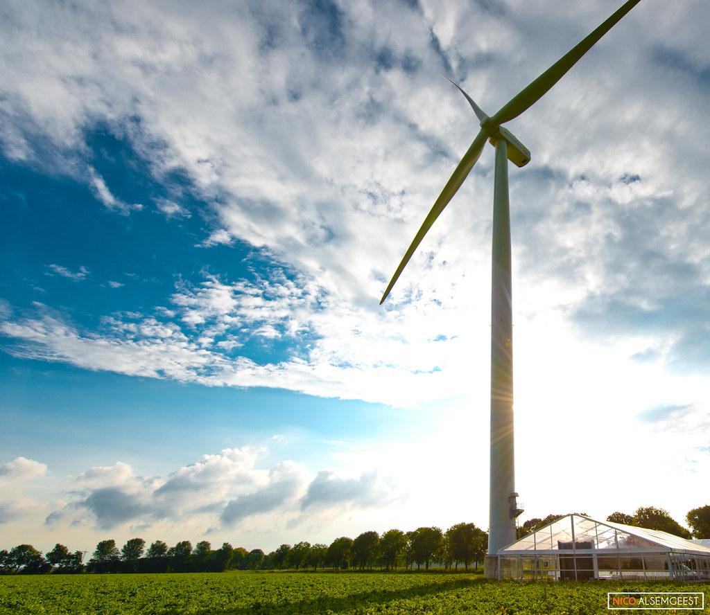 Opening Windpark zeewolde