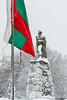 Winter in Montana 07 (Milen Mladenov) Tags: 2017 bulgaria d3200 january montana nikon city cityview flag monument snow snowing winter