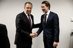 .  .   Sergey Lavrov & Sebastian Kurz (  / MFA Russia) Tags:         russia sergeylavrov lavrov mfa austria russiaaustria