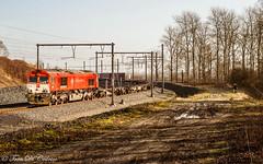 CROSSRAIL PB 12  Germaalweg (Tren di Cédrico) Tags: l10 crossrail pb12 beveren waaslandhaven train trein privaat private