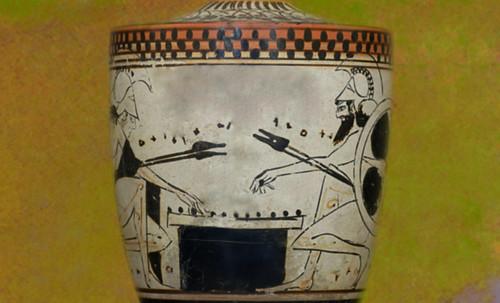 "Petteia - Ludus Latrunculorum  / Iconografía de las civilizaciones helenolatinas • <a style=""font-size:0.8em;"" href=""http://www.flickr.com/photos/30735181@N00/31710163933/"" target=""_blank"">View on Flickr</a>"