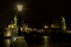 Charles Bridge, Prague (PG63) Tags: praha tjeckien czech karlsbron karlův most long exposure