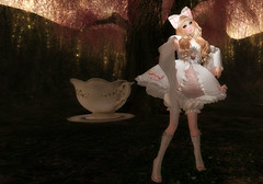 2017 Coordinate 16 (littlerowan) Tags: secondlife doll dolly dollface porcelaindoll balljointdoll bjd whiteface egl lolita himelolita hairbow pigtails bellsleeves petticoat pannier bloomers tights kneesocks heels bows ruffles ribbons olive angelica arcadesl tsg thesugargarden moonamore sallie zenith