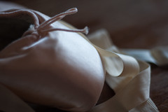 Satin and Ribbon (TheWrongDroid) Tags: 365the2017edition 3652017 day2365 2jan17 balletslippers pointe shoes ballet