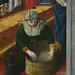 GIOVANNI FRANCESCO DA RIMINI (Attribué),1440-50 - Vie de la Vierge, La Naissance de la Vierge (Louvre) - Detail 21