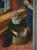 GIOVANNI FRANCESCO DA RIMINI (Attribué),1440-50 - Vie de la Vierge, La Naissance de la Vierge (Louvre) - Detail 21 (L'art au présent) Tags: art painter peintre details détail détails detalles painting paintings peinture peintures 15th 15e peinture15e 15thcenturypaintings 15thcentury detailsofpainting detailsofpaintings moyenâge middleage louvre museum paris france italie italy italia francesco giovannidarimini giovanni francescodarimini lanaissancedelavierge viedelavierge naissance birth birthday adoration worship bible saint bless sacred holy blessed figure personne people femme femmes woman man men virgin vierge enfant child enfance kid baby bébé childhood parents family famille toilette bath nourrice nurse nursemaid nanny offrande offering gift chambre bedroom
