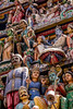 Multi-faced (Jon and Sian Bishop) Tags: malaysia singapore 2016 july summer outdoor hot humid colour vibrant vibrance figures face art sculpture temple holy canoneos550d canon eos eos550d colourful history culture surreal