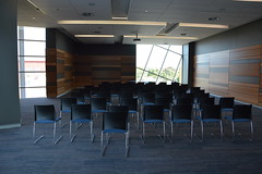 Conference room - set up for seminar