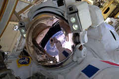 Space Selfie (europeanspaceagency) Tags: thomaspesquet spacewalk iss nasa esa space eva proxima astronauts