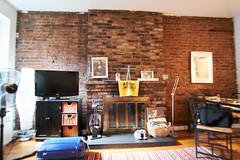 NYC Home Base (Sean Davis) Tags: believememphis monalisa newyork newyorkcity apartment flag