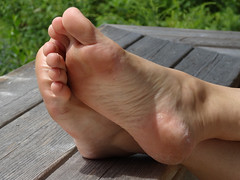 JanF205sized (thermosome) Tags: foot feet mature soles wrinkled milf