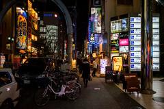 Shichikencho-Dori, Sakae 3-chome, Nagoya (kinpi3) Tags: 名古屋 japan nagoya night street ricoh gr sakae sumiyoshi