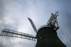 Holgate Windmill, January 2017 - 2 (nican45) Tags: 1020 1020mm 1020mmf456exdc 2017 29january2017 29012017 canon dslr eos70d hwps holgate holgatewindmill january slr sigma york clouds fantail mill sail sails sky wideangle windmill
