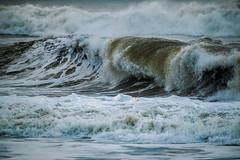 Wave Watching (tquist24) Tags: nikon nikond5300 oxnard oxnardshores pacificocean beach coast foam foamy geotagged morning ocean storm water waves california unitedstates