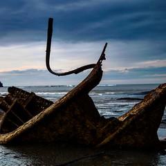 Ship wreck (Thirteen44 Photography) Tags: shipwreck wreck sea seascape yorkshire beach saltwickbay whitby