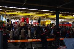 IMGP7799 (Alvier) Tags: schweiz graubünden rhb rhätischebahn landquart hauptwerkstätte tagderoffenentür triebfahrzeuge lokomotiven taufe triebzüge
