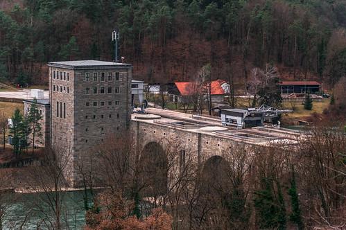 Power plant on river Drava