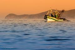 Orange and Blue, but not in macro. (Bouhsina Photography) Tags: orange blue blueandorange bouhsina bouhsinaphotography canon 7dii ef70200 été 2016 bateau pêche