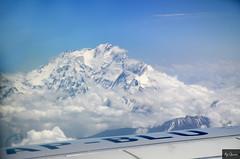 #view from Air #Nanga Parbet the killer mountain (Ali Usman Baig (Documenting Pakistan)) Tags: pakistan air nanga chilas killermountain 8000m nangaparbet