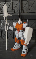 Gunpla Knight - MEP Preview (OrangeKNight) Tags: mobile 3d model suit printing gundam extra weapons mecha mech preview gunpla shapeways