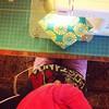 Eeking out a bit more work... (ruralish) Tags: sewing amybutler ragquilt wahm etsyshop ruralish modernragquilt larkfabric uploaded:by=flickstagram ruralishetsy ruralishragquilts instagram:photo=897167103616568632229433794 jordanragquilt