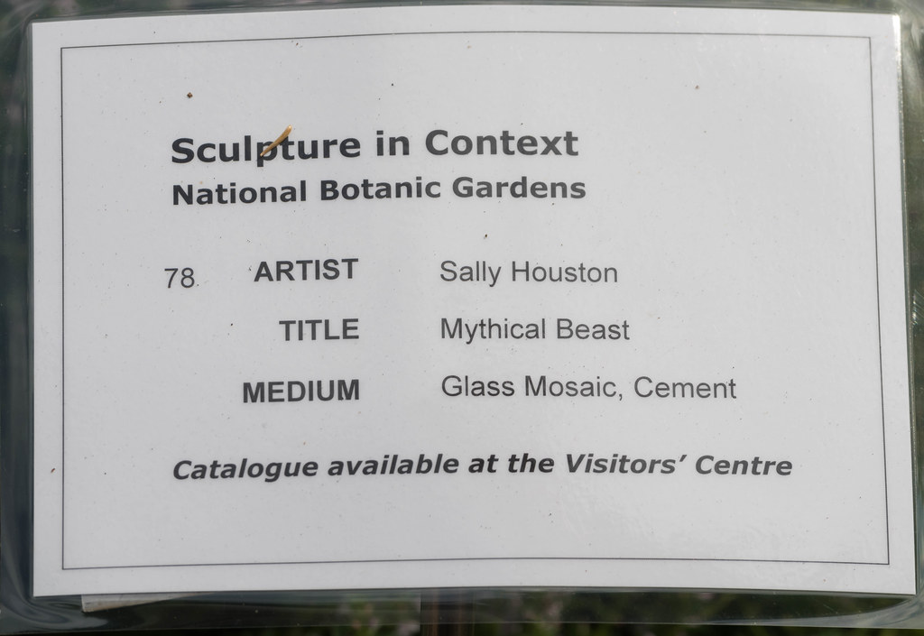 MYTHICAL BEAST BY SALLY HOUSTON [SCULPTURE IN CONTEXT 2015] REF--107691