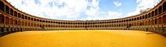 Plaza de Toros / Ronda (jo.misere) Tags: plaza yellow spain sand bull ronda toros geel spanje zand stieren andalucie