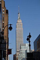 Empire State Building (trphotoguy) Tags: nyc ny newyork skyscraper manhattan empirestatebuilding empirestate