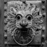 Door Knocker at Entrance to Brougham Hall thumbnail