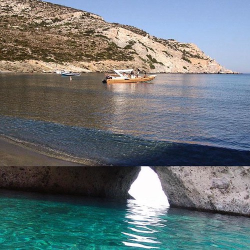 Blue Lagoon Antiparos & Despotiko Islands   #Swim, #snorkel & relax in the blue lagoon waters in island Tigani only 4,5 nautical miles from Pounda #Paros where crystal blue water and sandy #beach will clear your mind...  Travel Duration : 3 to 8 hr Min /