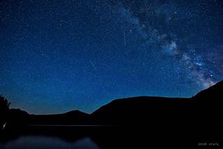 Shooting Stars and Satellites