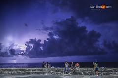 malecon (alan benchoam) Tags: sunset cuba tormenta thunder rayos melecn benchoam alanbenchoam