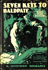 """Seven Keys to Baldpate"" by Earl Derr Biggers. NY: Grosset & Dunlap, (1925). Photoplay edition with scenes from the 1925 film (lhboudreau) Tags: fiction art film mystery illustration movie book drawing illustrations drawings books romance resort novel robbery silentmovie 1925 paramount bookart silentfilm hardcover crooks magee motionpicture photoplay dustjacket movietiein classicmovie vintagebook mountainresort baldpate paramountpictures vintagemovie jacketart biggers hardcovers baldpateinn hardcoverbooks billmagee hardcoverbook grossetdunlap paramountpicture earlderrbiggers douglasmaclean billymagee fictionstory fictionnovel sevenkeystobaldpate williammagee dustjacketart photoplayedition earlbiggers williamhalowellmagee"