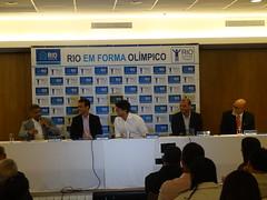 Romário discursa no evento