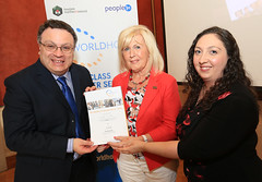 Eileen Mullan from Leonardo Logistics Ltd at the WorldHost Celebration and Certificate Presentation