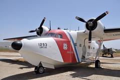 HU-16E GRUMMAN ALBATROS RIV AIRPORT MARCH FIELD MUSEUM (airlines470) Tags: field museum coast march us airport guard albatros grumman riv hu16e