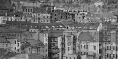 Prague Roofs - Pražské střechy (marounektom) Tags: city urban collage europe republic czech prague prag praha praga roofs fantasy montage republika zizkov žižkov česká střechy