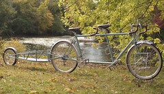 Tandem and trailer (Chapman Cycles) Tags: