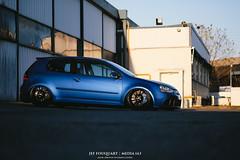 Depot3 (alpinesman) Tags: blue car vw golf volkswagen fuji ride 5 air racing gas r swap porsche fujifilm fujinon stance r32 deepblue bagged mk5 xt1 fujix supermade bigbrakes worldcars media143 xf35mm xf23mm xf56mm