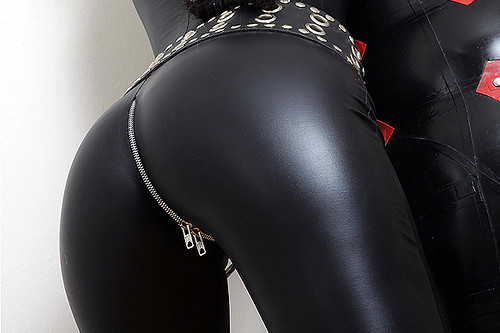 leggings ass Latex