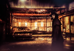 Disturbed - DSC07484 (cleansurf2 - Portrait portfolio) Tags: abandoned aftermath cosplay zombie sony apocalypse australian warehouse apocalyptic ilce a6000