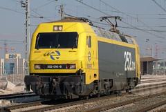 252.014 14.2.2006 (Mariano Alvaro) Tags: tren trenes siemens guadalajara odonnell locomotora renfe pruebas 252 fuencarral