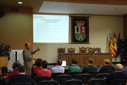 Jornada Informativa RD 1311/2012 e ITEAF - Benifaió (10-11-2015)